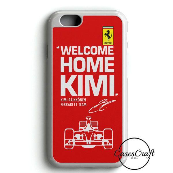 Kimi Raikkonen Welcome Home Ferrari F1 Team iPhone 6/6S Case | casescraft