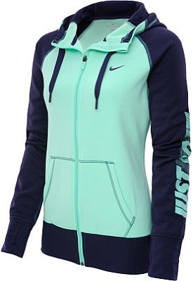 NIKE Women's All Time Graphic Full-Zip Hoodie - SportsAuthority.com