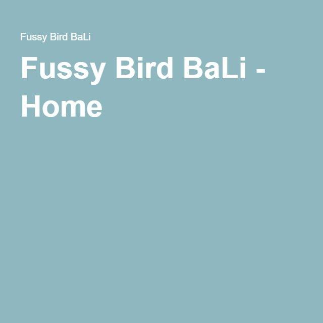 ウブド・ティルタタワール通りにあるビーガンレストラン Fussy Bird BaLi - Home