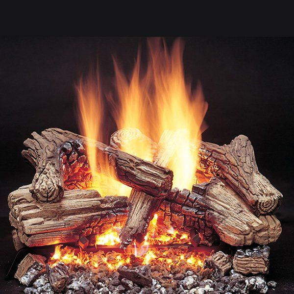 Majestic Duzy 3 Vented Gas Log Set In 2019 Gas Fireplace Gas Logs Gas Fireplace Logs