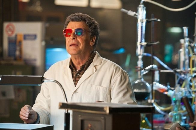 Fringe - Dr. Walter Bishop is one of the best characters ever created for TV.