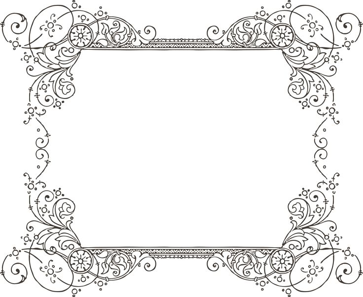 decorative backgrounds for word documents More Free Clipart - word design frames
