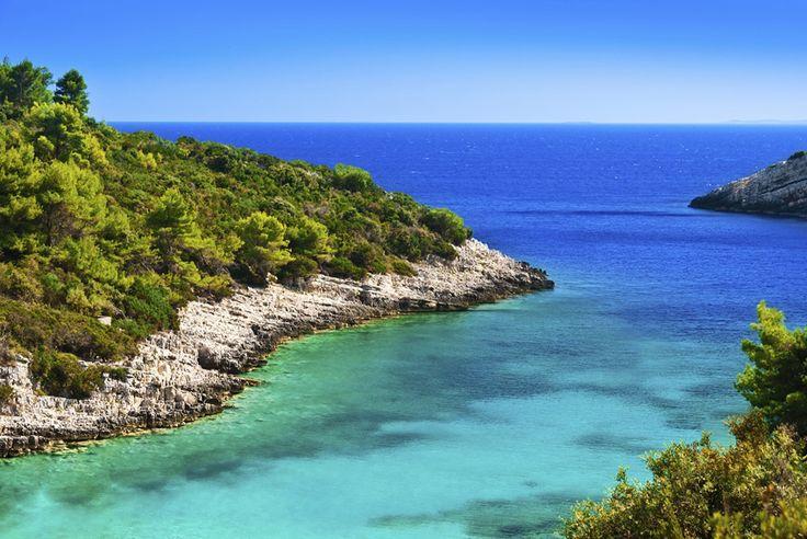 Zatoka na Wyspie Korcula