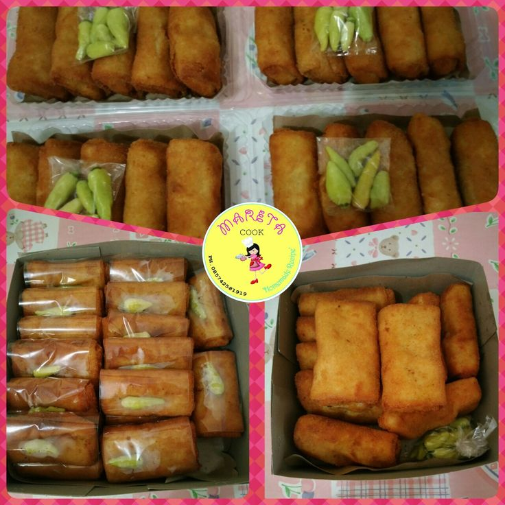 4 pack + 30pc + 10pc risoles ragout ayam