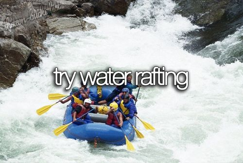 Try water rafting. @Triathlon Girl @Christian Dreyer