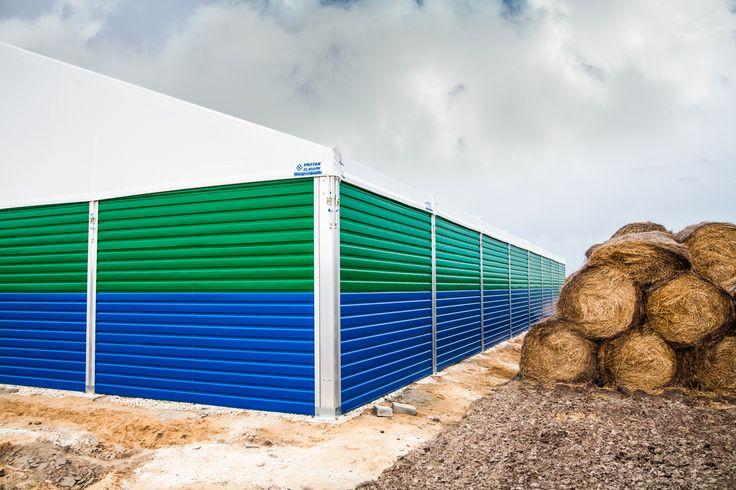 Storage structure in Szczyty/ Hala magazynowa dla rolnictwa w Szczytach