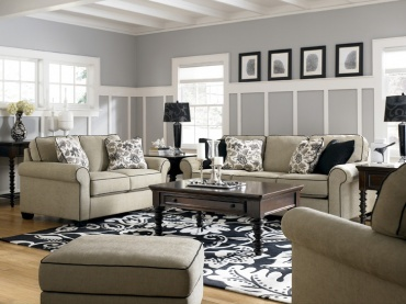 Sepia Sofa Sleeper* From The Canton Collection : Taft Furniture | Albany