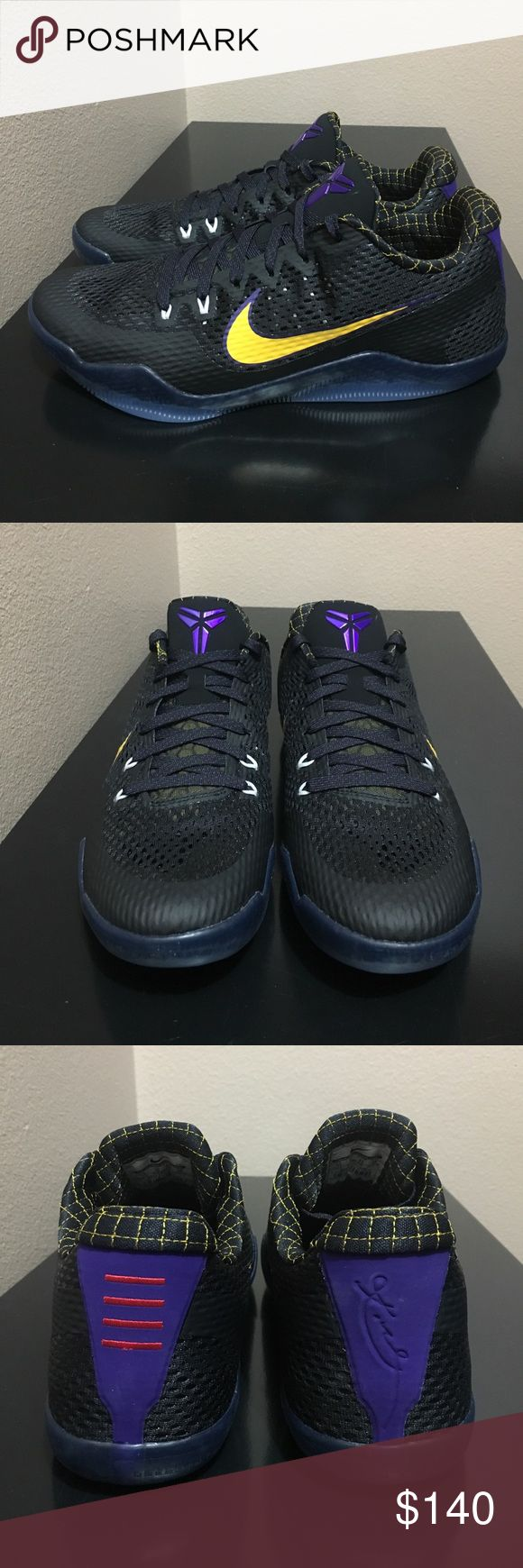 Nike Kobe XI Low Carpe Diem Brand new/Never worn. Brings original everything. 100% Authentic. Lightweight, great sole grip, and cushioning all around sock liner. Nike Shoes Sneakers