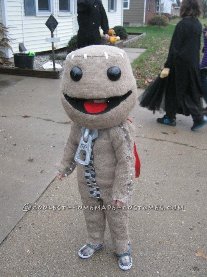 Awesome Little Big Planet's Sackboy Halloween Costume ...