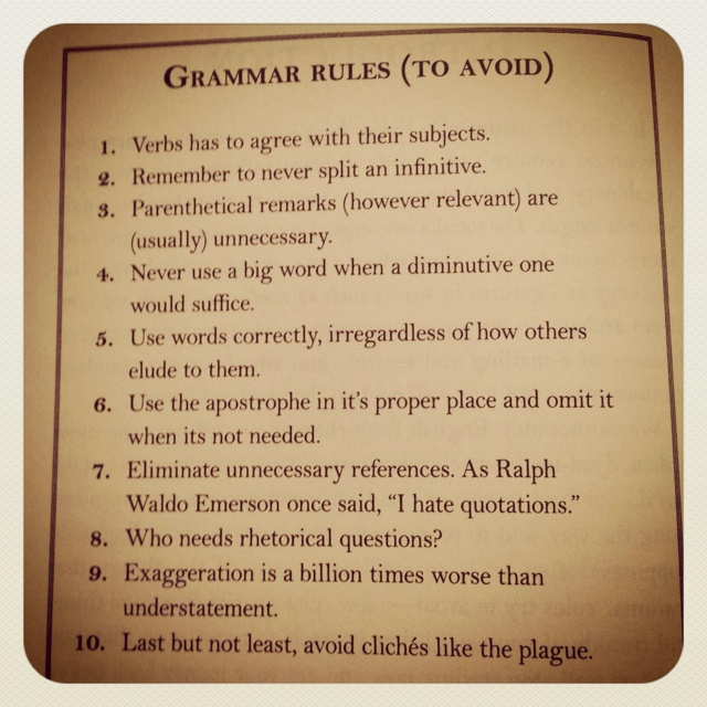 grammar rules for writing an essay How the writing center can help with grammar  this is also an acceptable writing style, especially for an essay:  there is no hard and fast rule about tense .