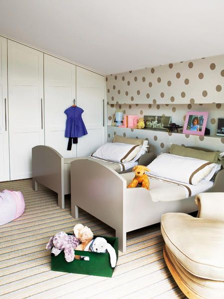 shared room.  love the wall cubby