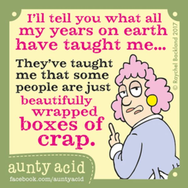 Aunty Acid for 7/6/2017