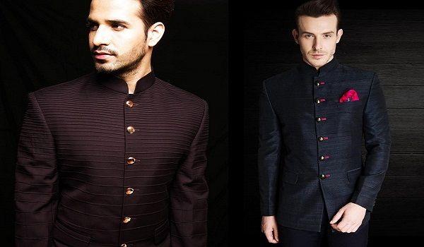Puneet & Nidhi offers Stylish Groom-wear in Noida, Delhi & California  https://goo.gl/NCrZjE