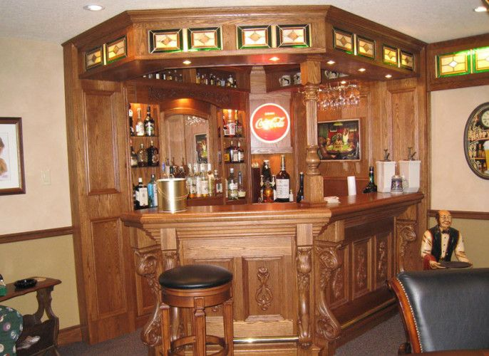 Man Cave Bar Counters : Best custom home bars images bar ideas basement