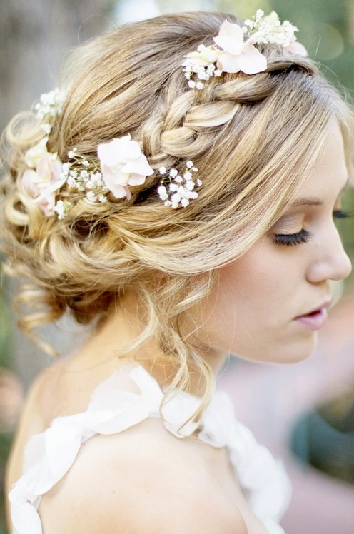 Dutch flower braid #WeddingHair inspiration check us out at www.labola.co.za for more inspiration