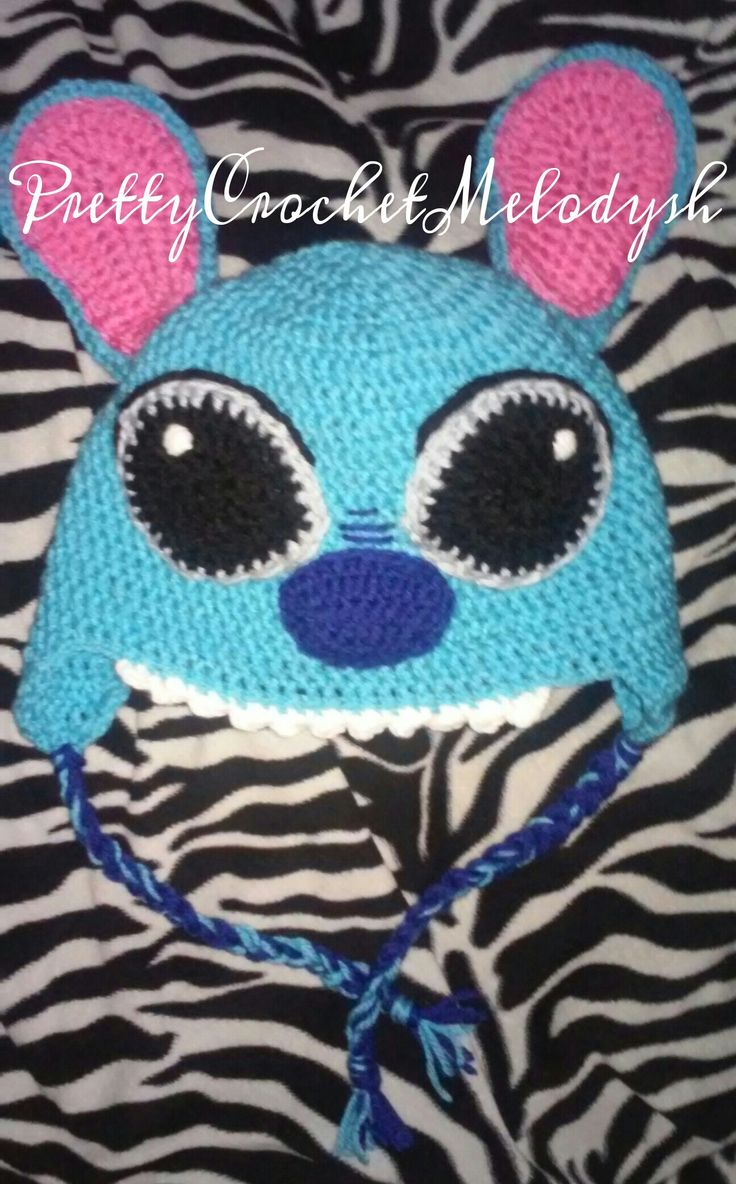 Stitch crochet hat