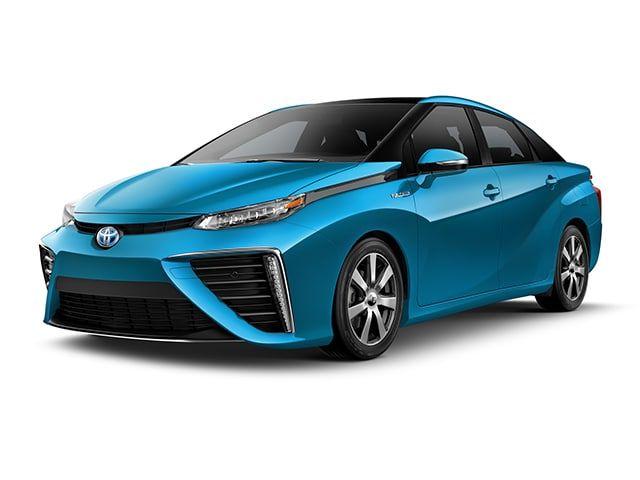2018 Toyota Mirai Sedan Atmospheric Blue Metallic Toyota Cars Hydrogen Powered Cars Hydrogen Car