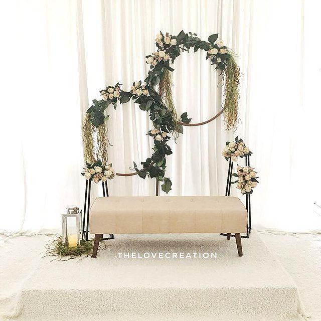 Wedding Nikah Simple Backdrop Decoration Muslim: Bajet, Cantik & Simple In 2019