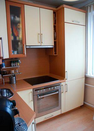 Маленькая кухня с газовой колонкой дизайн фото