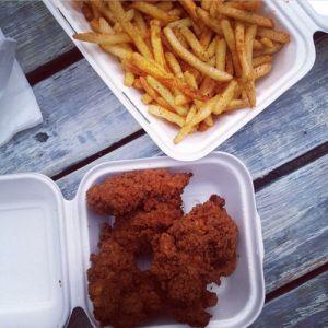 London - Mother Clucker Food Truck - Strips + Fries + Drink