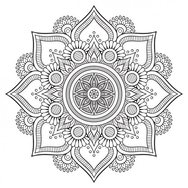 Diseño de fondo floral Vector Gratis