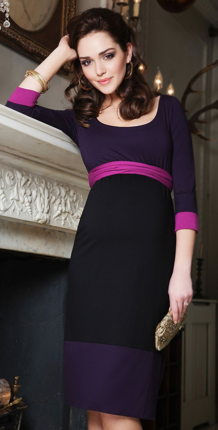 Best 25 purple maternity dresses ideas on pinterest maternity colour block dress ombrellifo Images