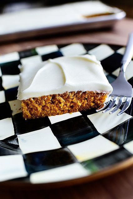 Pumpkin Sheet Cake! Oh, baby.