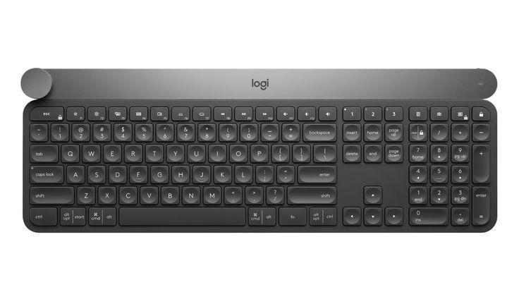 Logitech teclado inalámbrico nuevo tiene un astuto truco para creativos profesionales