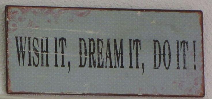 Como um lema de vida!