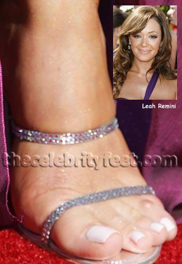 Valuable piece leah remini feet
