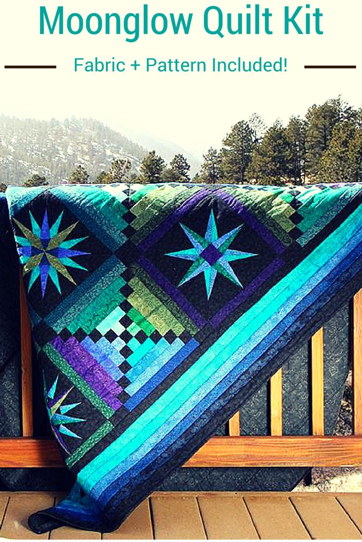 This gorgeous quilt was designed by Jinny Beyer more than 10 years ago, and Craftsy makes it easy for you to create the quilt yourself by bringing you the fabric and pattern you need to complete it! Order the kit online today and be prepared for the endless compliments you'll receive when your friends and family see it.