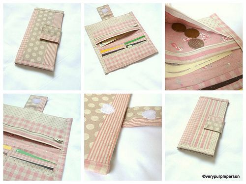 Tutorials on making wallets and purses