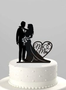 Wedding Cake Toppers - Wedding Decorations Perfect for my sisters wedding next year!