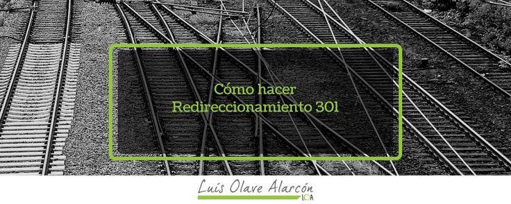 Cómo hacer Redireccionamiento 301 - luisolavea.xyz