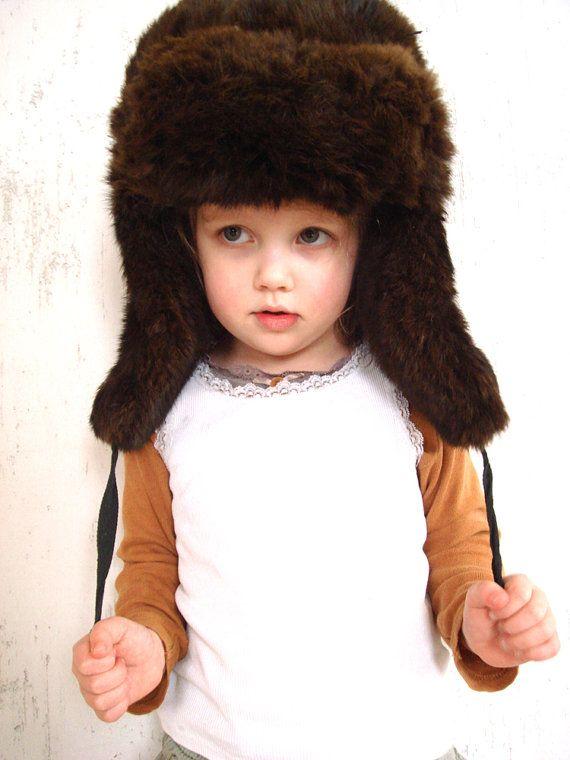 Vintage Ushanka Traditional Russian Winter hat by GrandpasTreasury, $60.00