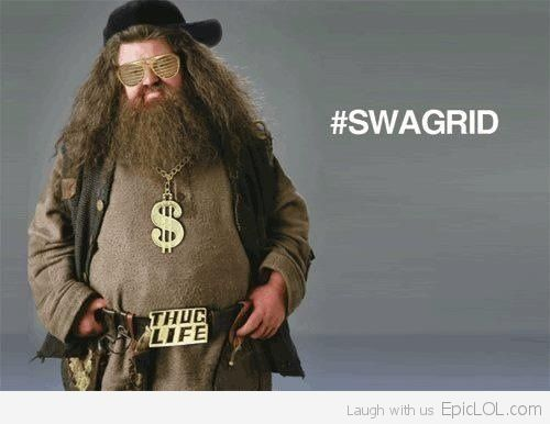 Swagrid.. LOL HARRY POTTER JOKES