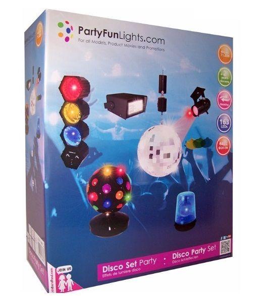 6-delige Party Disco Set