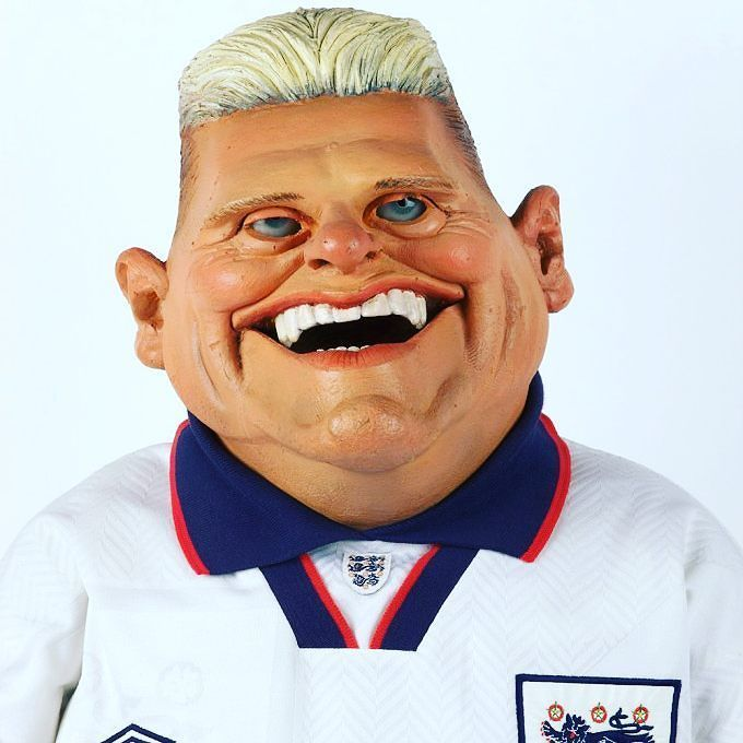 #OnThisDay in 1990 @england came desperately close to reaching the World Cup final knocked out on penalties by old foes @dfb_team. The image of a choked-up Paul Gascoigne moments after being suspended from a potential final is one of the tournament's defining moments. In true English fashion we spent the next few years lampooning his emotional response. Satirical puppet programme Spitting Image even dedicated an entire musical number to Gazza's wistful weeping. #gazza #crygazzacry…