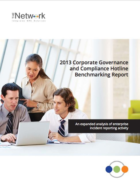 The goal of the 2013 Corporate Governance and Compliance Hotline Benchmarking Report is to identify emerging best practices for hotlines and other mechanisms for reporting misconduct and to provide a framework by which companies can assess their own ethics and compliance programs.