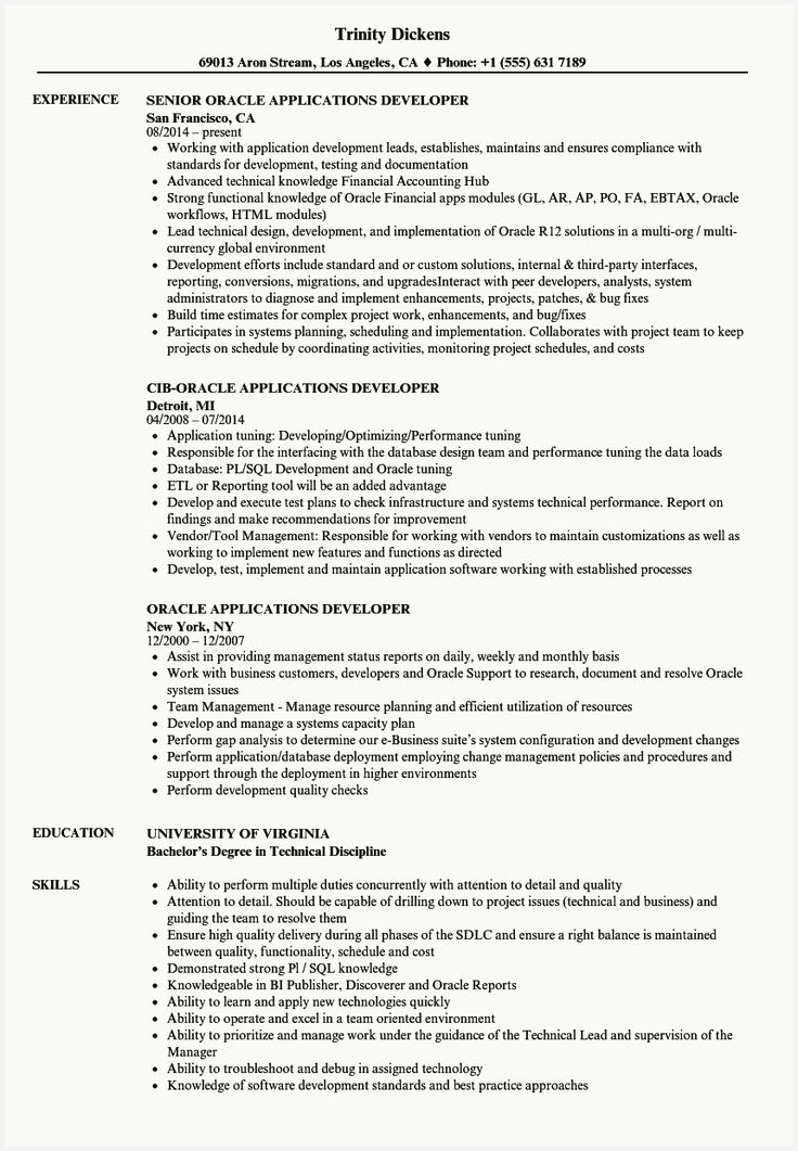 51 inspirational front end developer resume sample pics