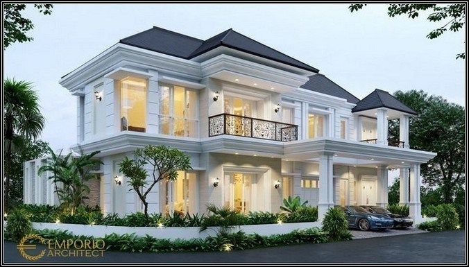 152 Most Popular Modern Dream House Exterior Design Page 9 Bloganisa Online House Exterior House Plans Mansion Classic House Design