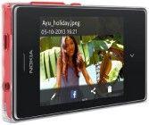 Nokia Asha 502 (Dual SIM, Red)
