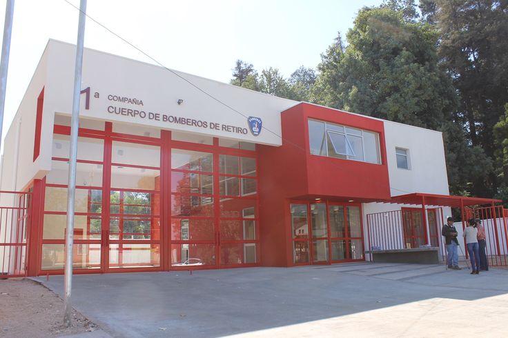 Cuartel 1 cia. de Bomberos de Retiro