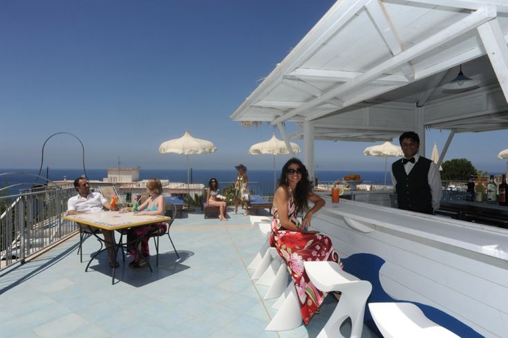 Panorama bar on the terrace - hotel il gattopardo terme & beauty farm