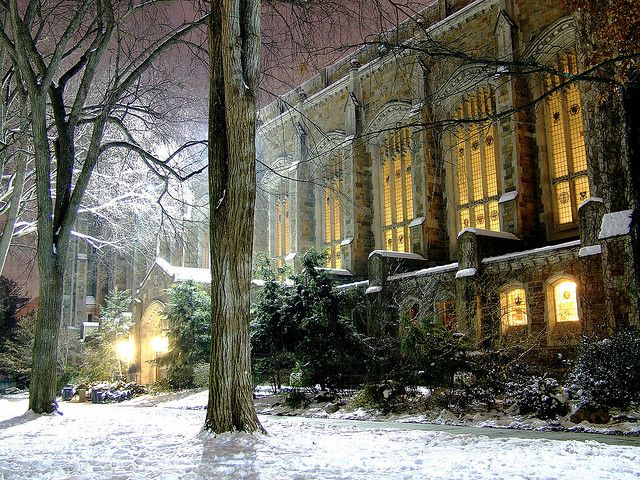 The University of Michigan Law Quad. One of the most beautiful places to see - and I walk through it 3x a week!  :)