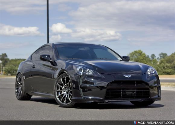 2010 Hyundai Genesis Coupe Featuring A Vega Front Per Wing Badge And Marcello Wheels Car Photo Submitted By Unknown Via Page Jan