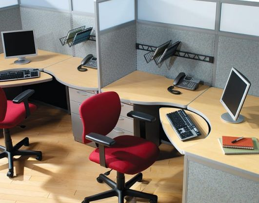 4x6 Agent Workstations By Interior Concepts