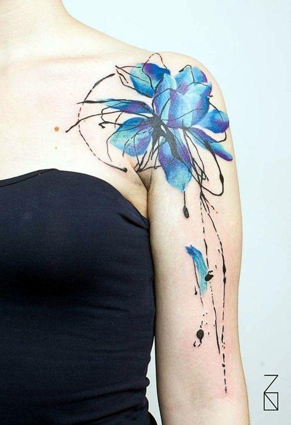 best 25 women shoulder tattoos ideas on pinterest. Black Bedroom Furniture Sets. Home Design Ideas