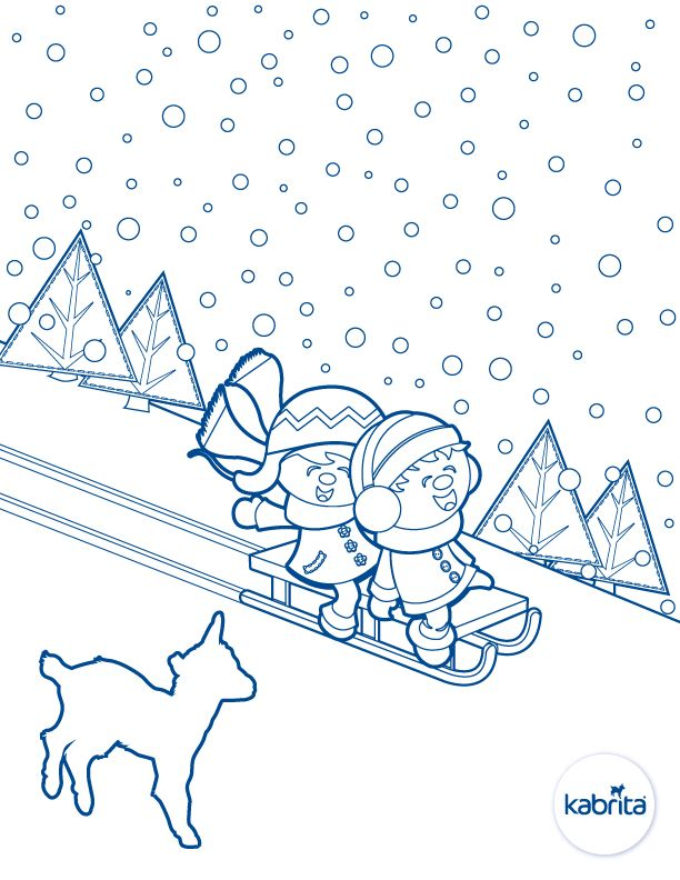 Keep your little artists busy this holiday season with our printable winter coloring sheets for kids!