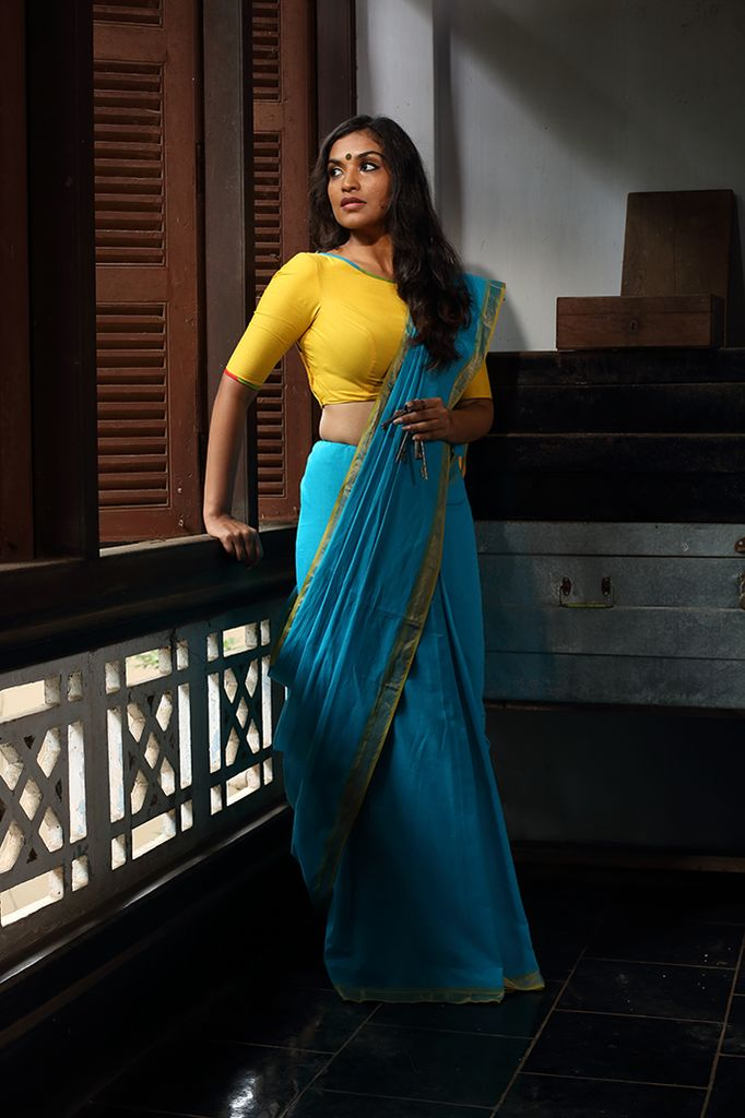 Unnineeli Saree - Seamstress //sari. YOU GUYS.